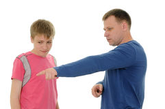 Father and  son Royalty Free Stock Photography