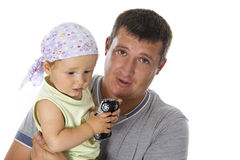 Father and son. Royalty Free Stock Images