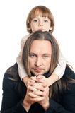 Father and son Royalty Free Stock Photos