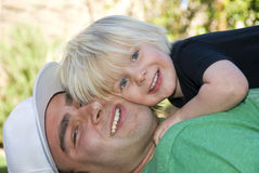 Father and Son Stock Image