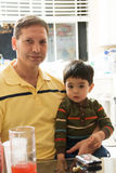 father son Στοκ φωτογραφία με δικαίωμα ελεύθερης χρήσης
