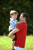 Father and son. Have fun Royalty Free Stock Photo