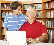 Father Son Affection Royalty Free Stock Photography