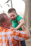 Father Son Bonding Stock Images