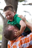 Father Son Bonding Royalty Free Stock Photos