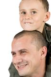 Father and son having fun Stock Photography