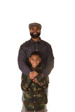 A father and son Royalty Free Stock Photo