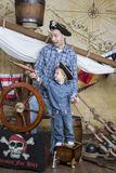 Father and son pirates Stock Images