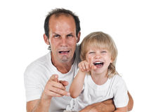 Father an son Royalty Free Stock Photography