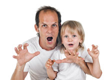 Father an son Royalty Free Stock Images