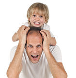 Father an son Stock Image