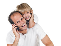 Father an son Stock Photos