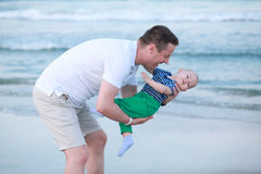 Father and son relationship. Father and little son. Stock Photography
