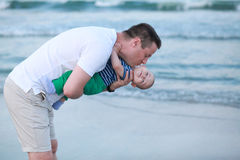 Father and son relationship. Father and little son. Stock Images