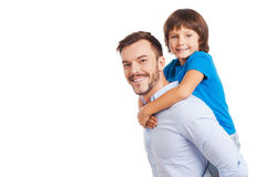Father and son. Stock Image