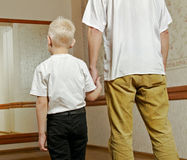 Father and son. Royalty Free Stock Photography