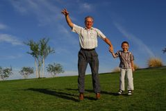 Father and Son Two Royalty Free Stock Photo