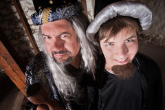 Father and Son Wizard Royalty Free Stock Image