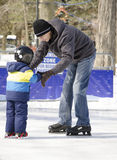 Learning to Skate Royalty Free Stock Photo