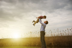 Free Father With Son Royalty Free Stock Image - 30784006