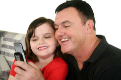 Father And Young Daughter 3 Stock Photo