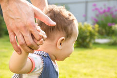Father and young son. Royalty Free Stock Photos