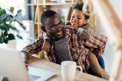 fatherhood royalty-vrije stock afbeelding