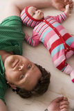 fatherhood Fotografia Stock Libera da Diritti