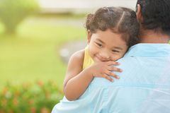 fatherhood royalty-vrije stock afbeeldingen