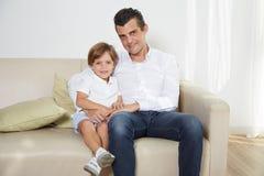 fatherhood stock foto's