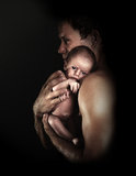 Fatherhood 2 Fotografia Stock