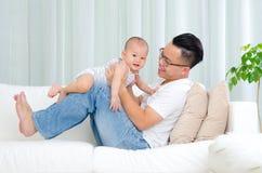 fatherhood royalty-vrije stock fotografie
