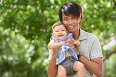fatherhood royalty-vrije stock foto