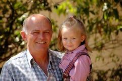 Fatherhood atrasado feliz fotos de stock