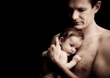 Fatherhood Royalty Free Stock Images