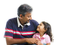 Fatherly love Royalty Free Stock Images