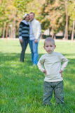 Fathers and children Stock Photos