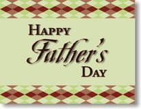 Fathers Day Background frame Royalty Free Stock Images