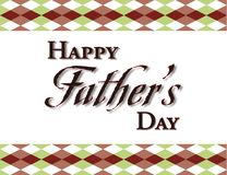 Fathers Day Background Frame Stock Photo