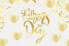 Fathers Day Card or background. vector illustration stock illustration