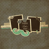 Fathers Day card stock illustration
