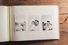 Fathers day composition royalty free stock photography