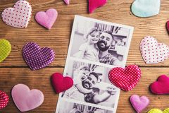 Fathers day composition Royalty Free Stock Images