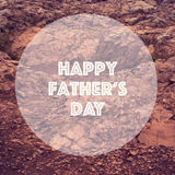 Fathers day concept, blurred background Stock Photos