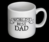 Fathers day cup. Dads day cup Stock Photography