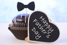 Fathers Day cupcake gift. Stock Photos