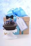 Fathers Day cupcake gift. Royalty Free Stock Image