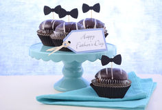 Fathers Day Cupcakes Royalty Free Stock Photo