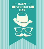 Fathers day design Stock Image