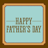 Fathers day design Royalty Free Stock Photos